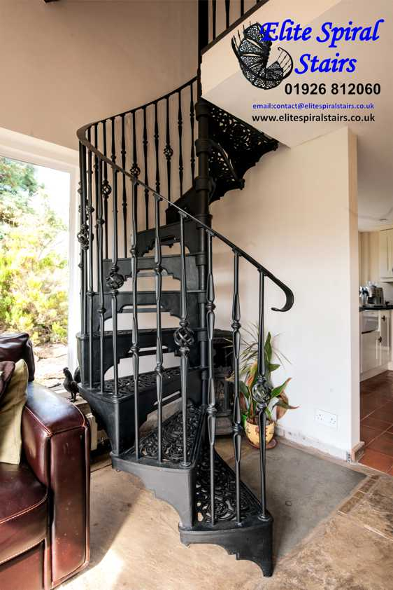 Iron Stair Spindlesiron Railings Stairs Staircase Wood